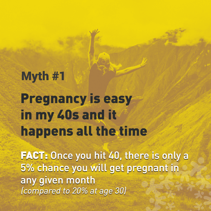 10 Myths About Pregnancy in Your 40s | Donor Egg Bank