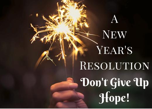 New Year resolution